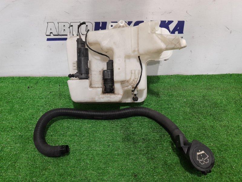 Бачок омывателя Bmw 530I E60 N52B30 2003 в сборе с двумя моторами + горловина