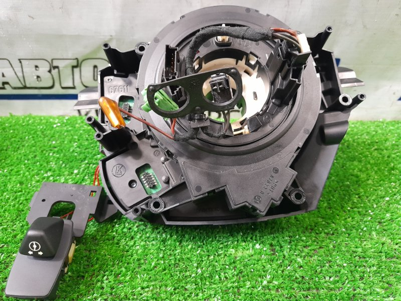 Шлейф рулевой колонки Bmw 530I E60 N52B30 2003 + плата подрулевых переключателей