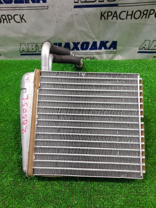 Радиатор печки Nissan March AK12 CR12DE 2002 с трубками, в ХТС.