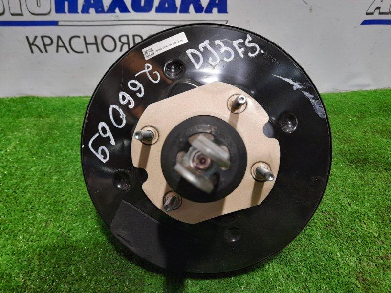 Главный тормозной цилиндр Mazda Demio DJ3FS P3-VPS 2014 с вакуумником и бачком