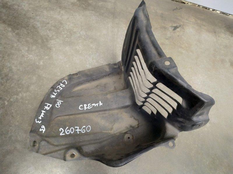 Подкрылок Toyota Cresta GX100 1G-FE 1998 передний правый 53895-22110 уголок к бамперу