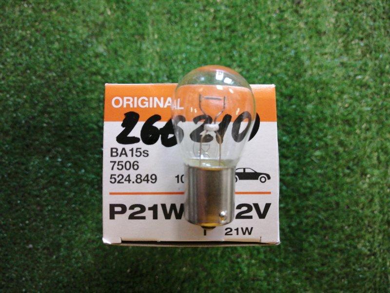 Лампа P21W ORIGINAl LINE, 12V 21W