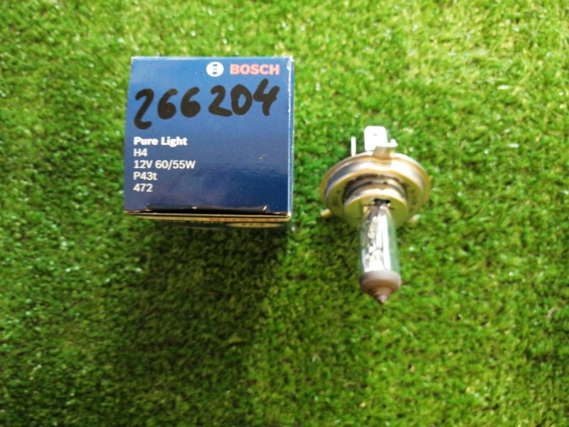 Лампа H4 STANDARD, H4, 12V, 60/55W,