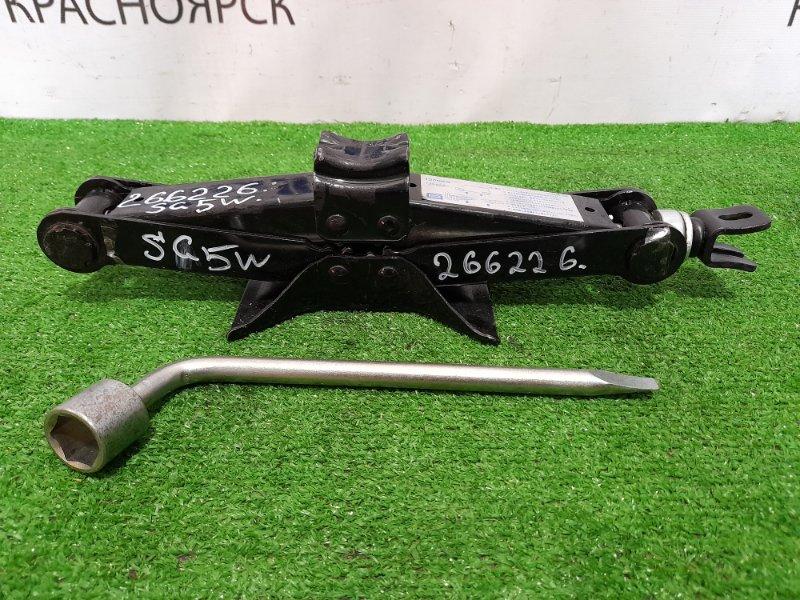 Домкрат Mazda Bongo Friendee SG5W J5-D 1995 грузоподъемность 1350 кг. с ключом на 21.