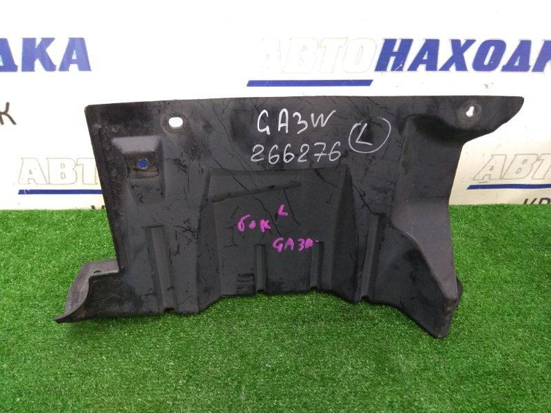 Защита двс Mitsubishi Asx GA3W 4B10 2010 левая боковая, левая