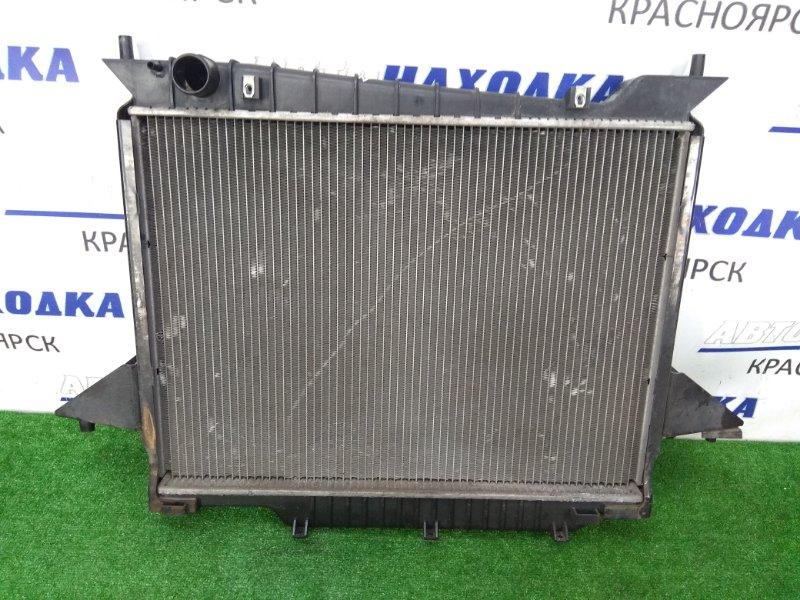 Радиатор двигателя Lincoln Navigator U228 LINCOLN INTECH 2003 голый, трубки охлаждения АКПП под