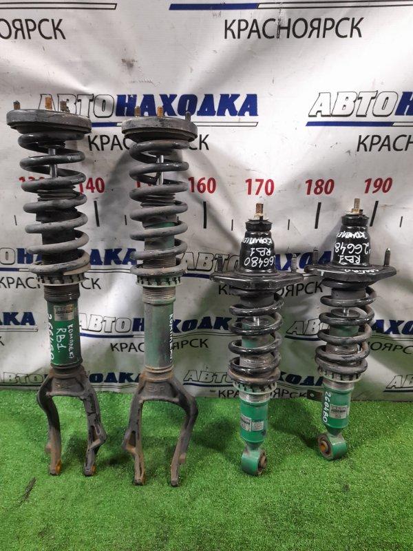 Стойка Honda Odyssey RB1 K24A 2003 комплект 4шт., тюнинг, TEIN, регулировка пружин,