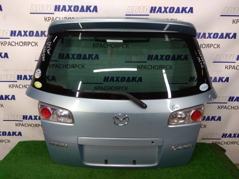 Дверь задняя Mazda Demio DY3W ZJ-VE 2005 задняя задняя, 2 модель, в сборе, спойлер, метла, фонари