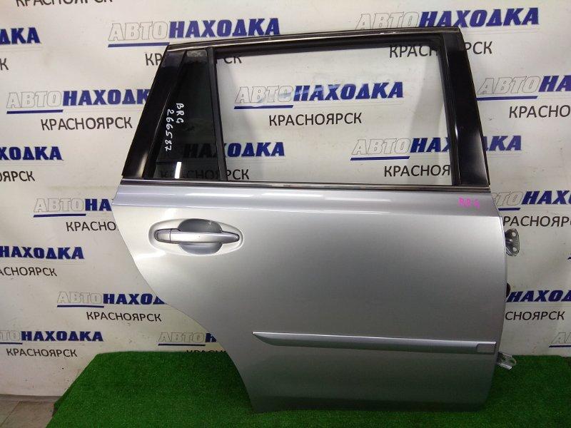 Дверь Subaru Legacy BRG FA20 2012 задняя правая ХТС, задняя правая, в сборе, серая (G1U), небольшая