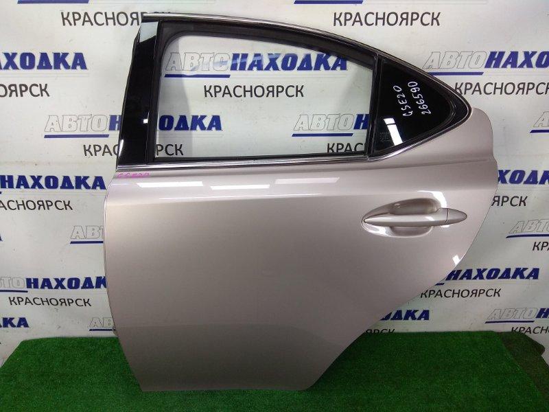 Дверь Lexus Is250 GSE20 4GR-FSE 2005 задняя левая ХТС, задняя левая, в сборе, серая (3R4),
