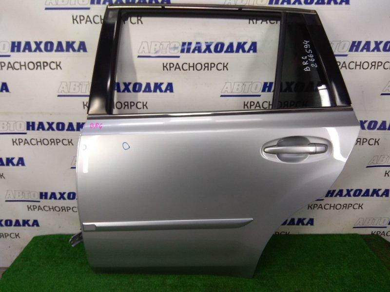 Дверь Subaru Legacy BRG FA20 2012 задняя левая ХТС, задняя левая, в сборе, серая (G1U), 2