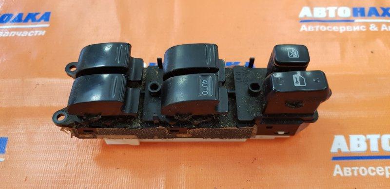 Блок управления стеклоподъемниками Toyota Cresta GX100 1G-FE 1996 передний правый без облицовки