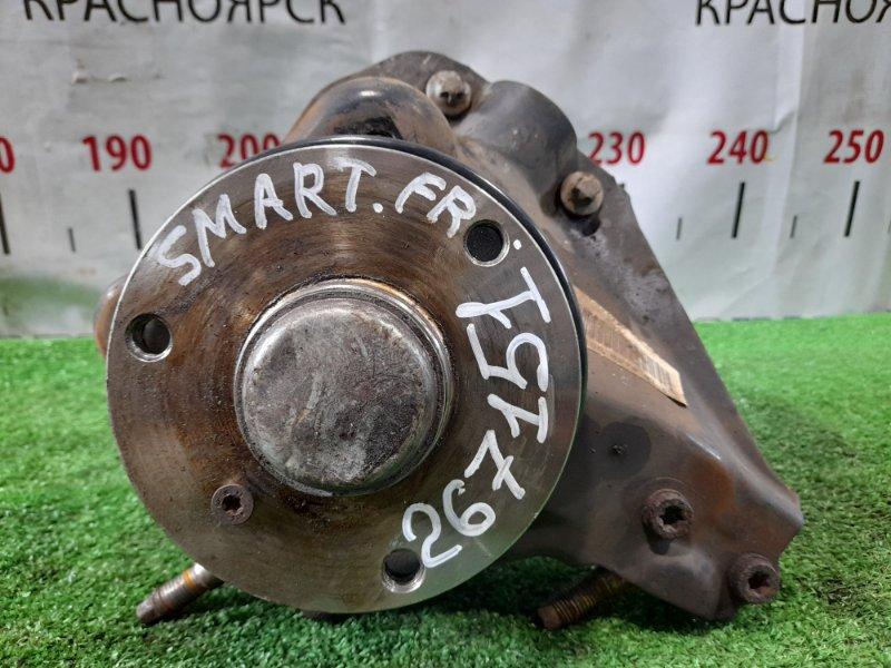 Ступица Smart Fortwo 450.352 160.910 2003 передняя правая FR, без диска и суппорта.