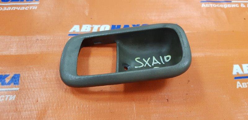 Ручка внутренняя Toyota Rav4 SXA10G 3S-FE 1994 передняя правая только накладка