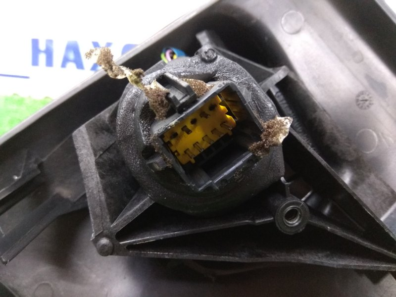 Зеркало Renault Megane BM F4R 2002 переднее левое левое, 7 контактов, серое (TED99), правый руль,
