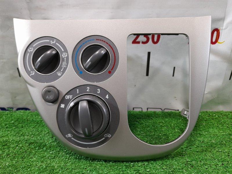 Климат-контроль Daihatsu Mira L275S KF-VE 2006 механический, с облицовкой под рычаг АКПП