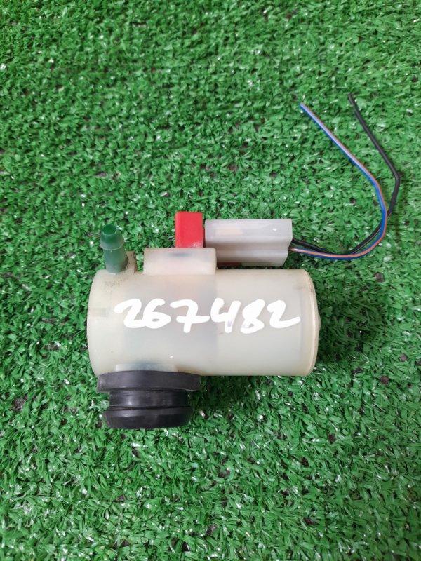 Мотор омывателя Mazda Bongo Friendee SG5W J5-D 1995 на один выход, контакты I --