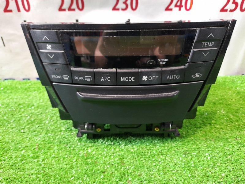 Климат-контроль Toyota Caldina ZZT241W 1ZZ-FE 2005 с центральным бардачком