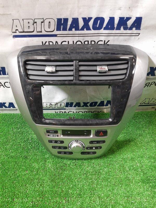 Климат-контроль Toyota Opa ZCT10 1ZZ-FE 2002 2 мод. (рестайлинг) С часами и облицовкой магнитолы.