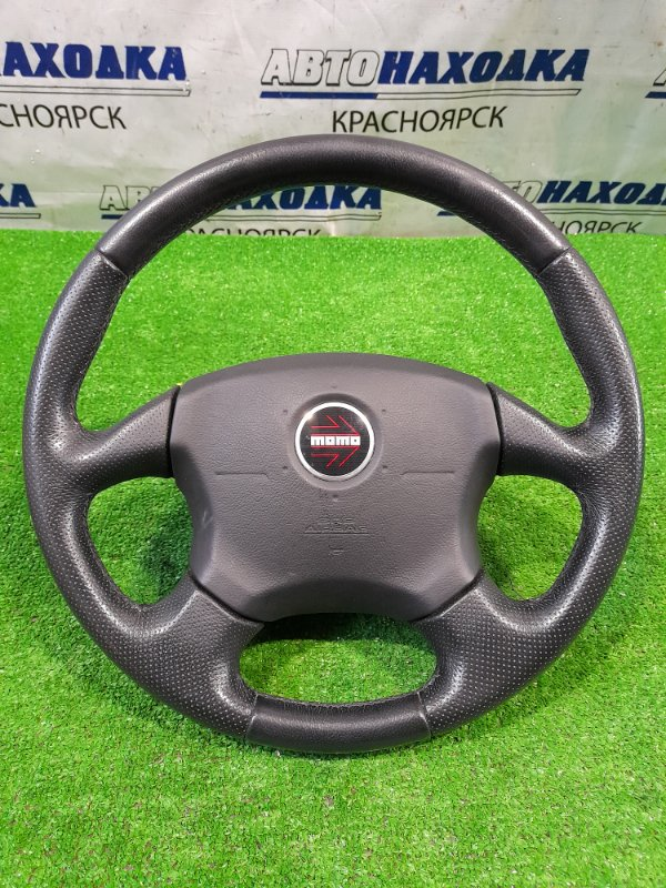 "Airbag Subaru Forester SG5 EJ20-T 2002 с рулем, ""MOMO"" кожа в ХТС, с подушкой, без заряда"