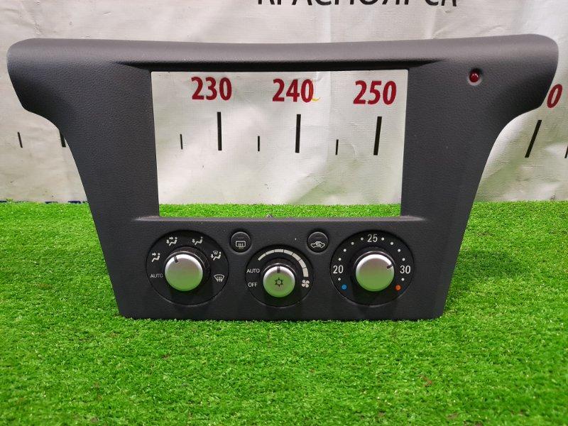 Климат-контроль Mitsubishi Airtrek CU4W 4G64 2001 с рамкой магнитолы