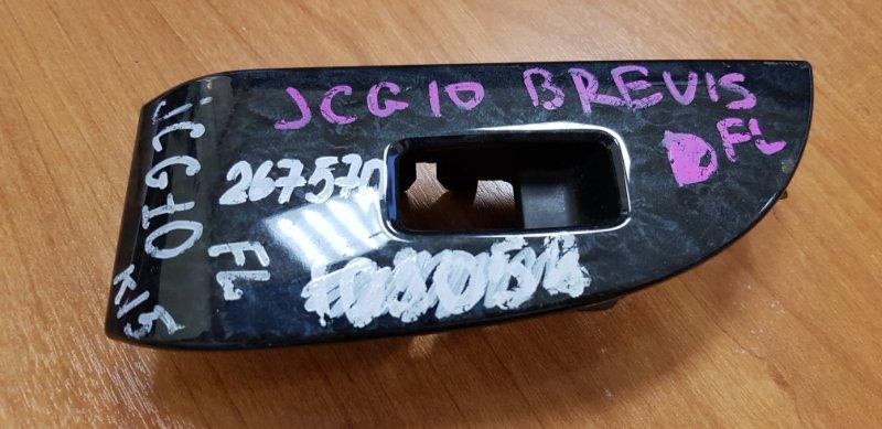 Кнопка стеклоподъемника Toyota Brevis JCG10 1JZ-FSE 2001 передняя правая только накладка