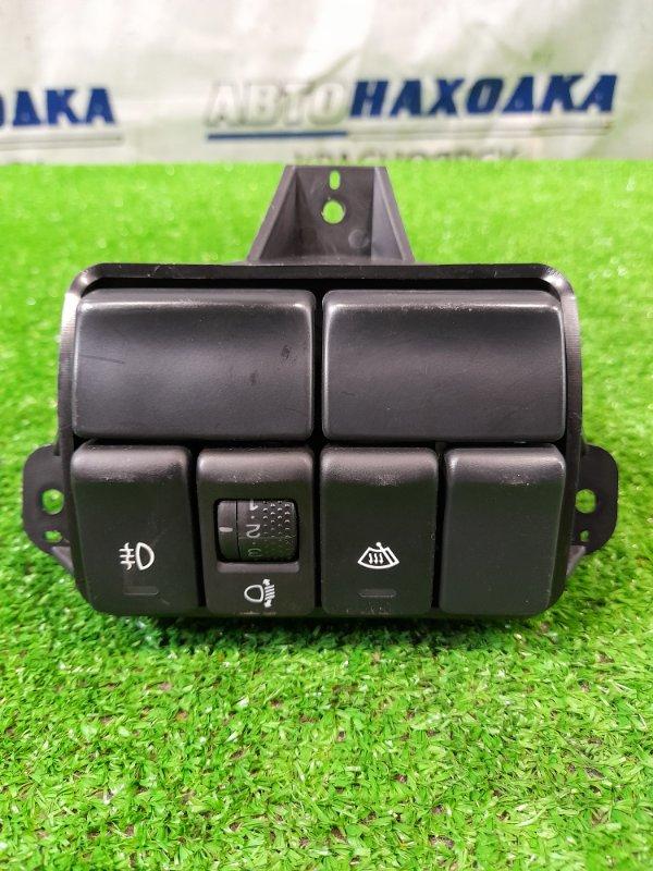 Кнопки в салон Subaru Forester SG5 EJ20-T 2002 на туманки и обогрев зоны покоя дворников