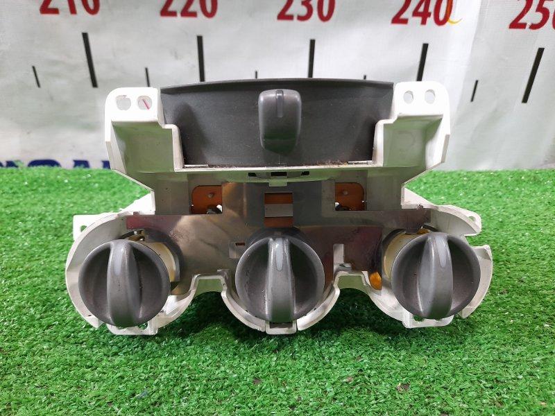 Климат-контроль Honda Fit GD1 L13A 2001 механический / (NH593L ОДНОТОННЫЙ СЕРЫЙ МЕТАЛЛИК)