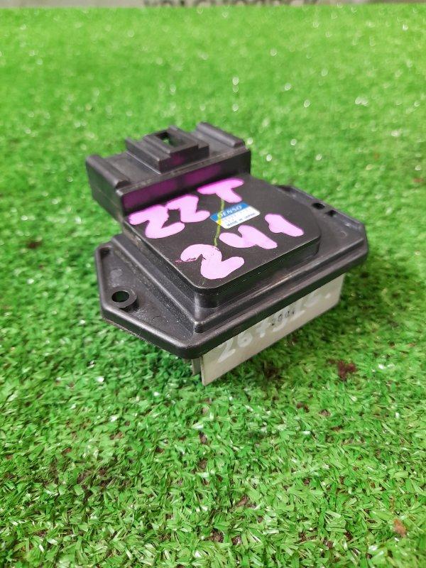 Реостат печки Toyota Caldina ZZT241W 1ZZ-FE 2005 499300-2121 4 контакта