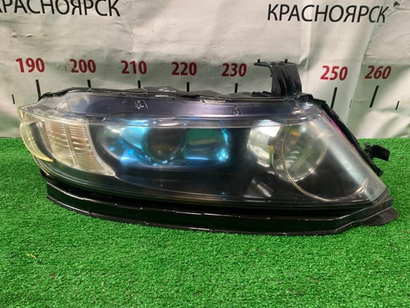 Фара Honda Odyssey RB1 K24A 2003 передняя правая 100-22497 R ксенон без блока и лампы. С планкой.
