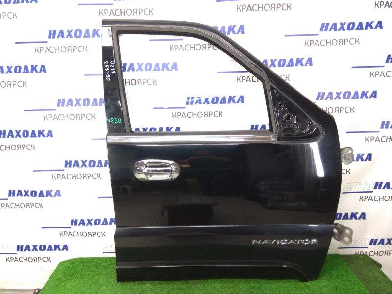Дверь Lincoln Navigator U228 LINCOLN INTECH 2003 передняя правая передняя правая, черная, без стекла и