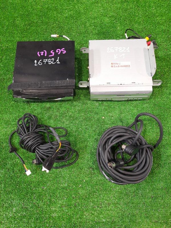 "Магнитола Subaru Forester SG5 EJ20-T 2002 Монитор PANASONIC CY-TV7200 7"" + DVD плеер CN-DV2200C с фишками"