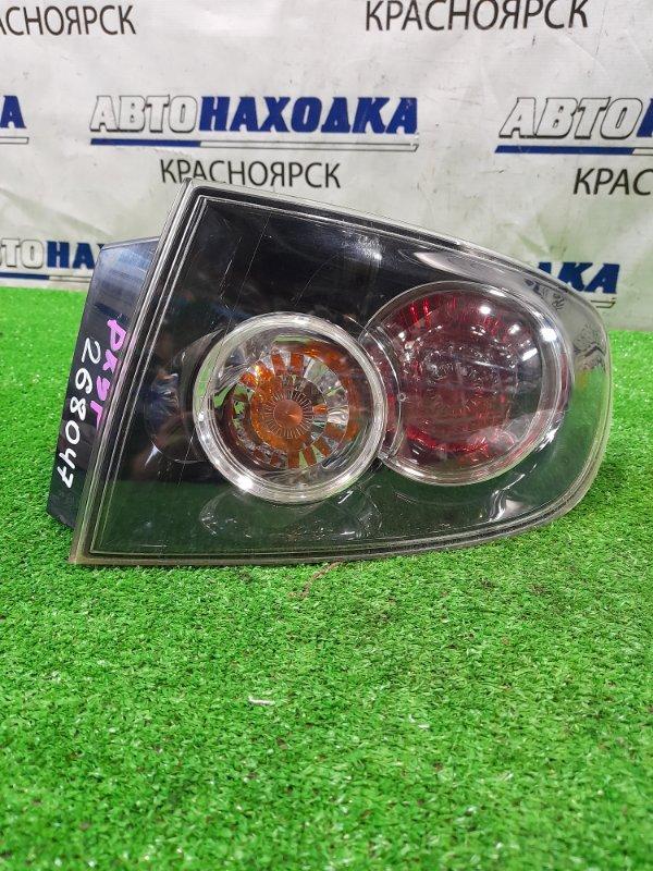 Фонарь задний Mazda Axela BK5P ZY-VE 2006 задний правый P6340R седан 2 мод. В крыло.