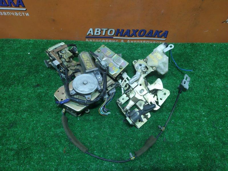 Механизм открывания двери Nissan Liberty RM12 QR20DE 06.2003 задний левый