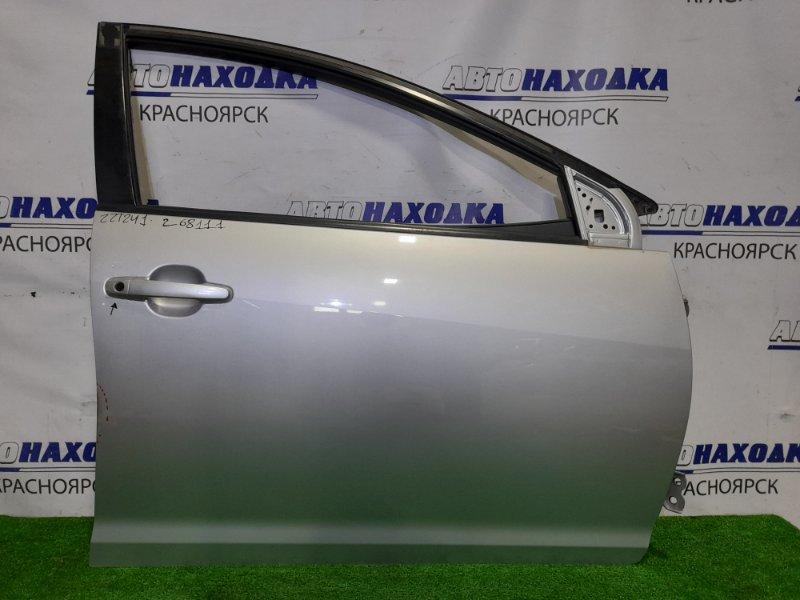 Дверь Toyota Caldina ZZT241W 1ZZ-FE 2005 передняя правая FR в сборе. ХТС. Цвет 1F7