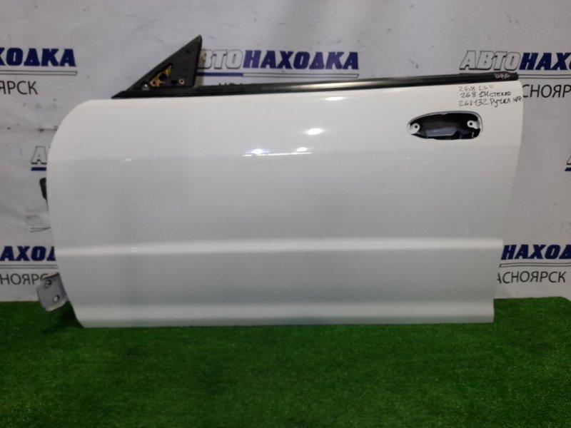Дверь Honda Integra DB6 ZC 1998 передняя левая FL в ХТС, цвет NH578 без стекла и ручки внешней