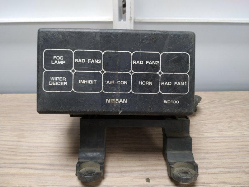 Блок предохранителей Nissan Ad VHNY11 QG18DE 1999 блок реле