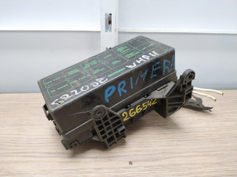 Блок предохранителей Nissan Primera WHP11 SR20DE 1997 Блок реле ***ДЕФЕКТ КОРПУСА***