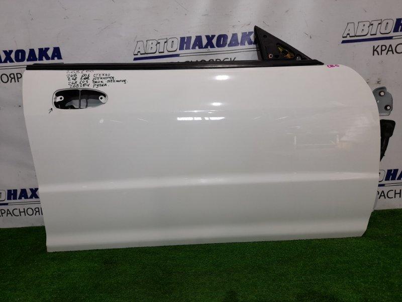Дверь Honda Integra DB6 ZC 1998 передняя правая FR в ХТС, цвет NH578 без стекла, с/подъемника, блока и
