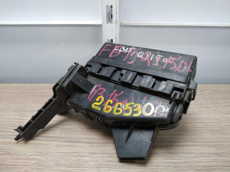 Блок предохранителей Nissan Sunny FB15 QG15DE 1998 блок реле