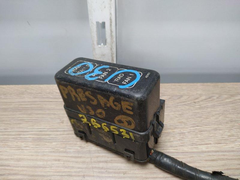 Блок предохранителей Nissan Presage U30 KA24DE 1998 24382AD101 блок реле