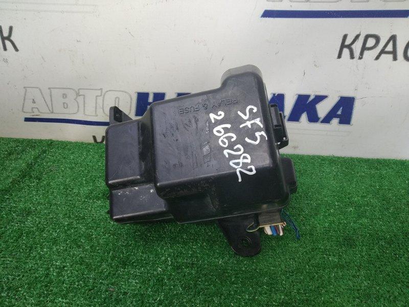Блок предохранителей Subaru Forester SF5 EJ20-T 1997 подкапотный