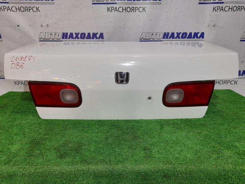 Крышка багажника Honda Integra DB6 ZC 1998 задняя Цвет NH-578, с вставками 226-22235. Есть вмятинка.