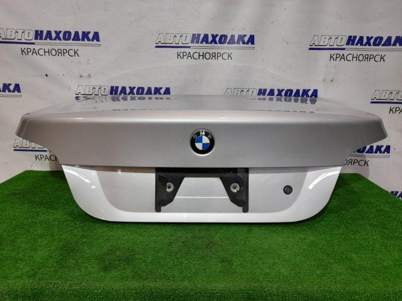 Крышка багажника Bmw 525I E60 M54B25 2003 задняя 41627122441 цвет 354 titan-silber, в сборе, в ХТС.