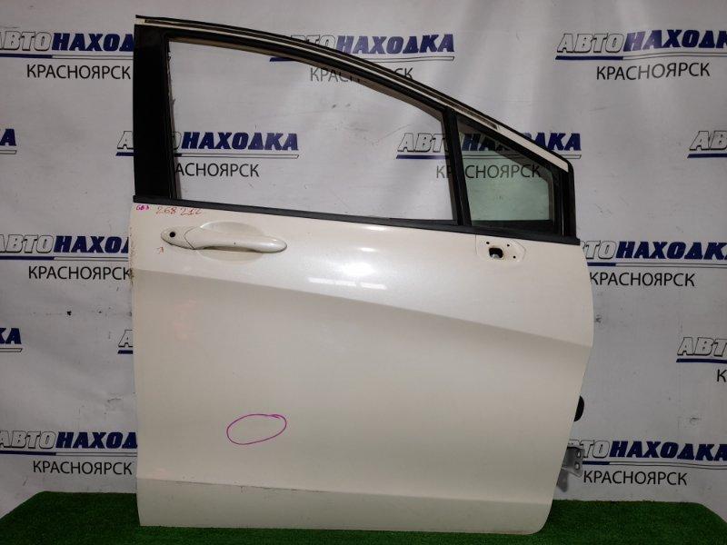 Дверь Honda Freed GB3 L15A 2008 передняя правая FR в сборе. Цвет NH624P есть маленькая вмятинка *