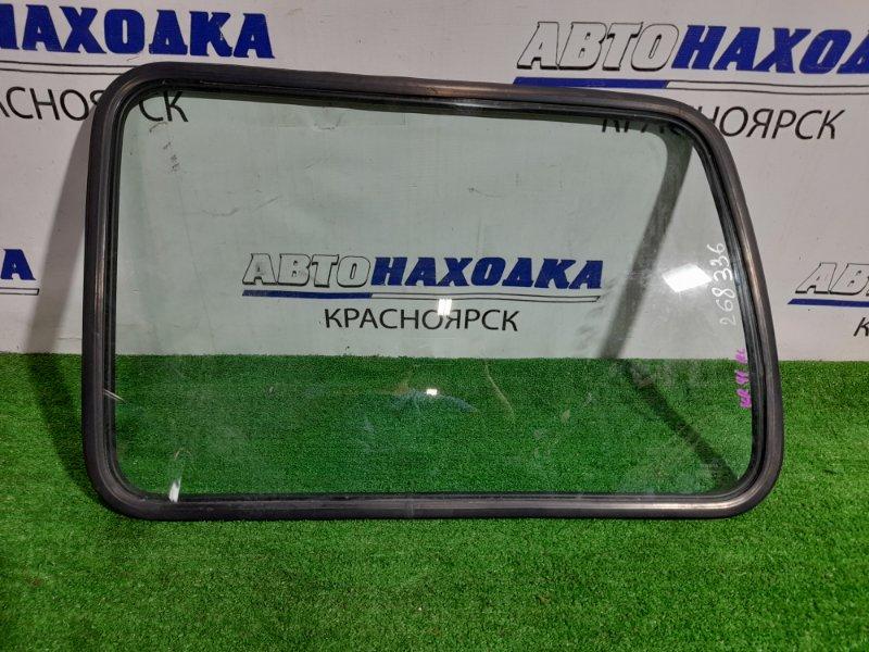 Стекло собачника Toyota Lite Ace KR41V 5K 1996 заднее левое левое, с уплотнителем