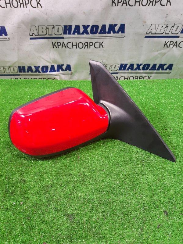Зеркало Mazda Axela BK5P ZY-VE 2006 переднее правое правое, 5 контактов, почти в ХТС, цвет A4A