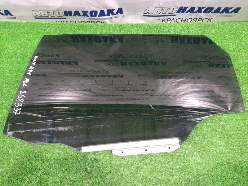 Стекло боковое Toyota Caldina ZZT241W 1ZZ-FE 2005 заднее левое RL, (с двери) тонировка заводская