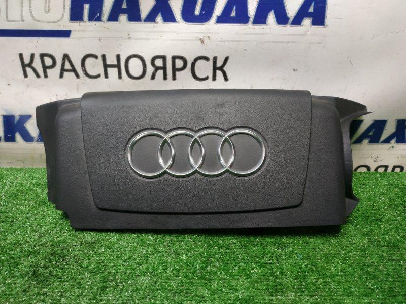 Крышка двигателя Audi A6 C6 AUK 2004 декоративная накладка двигателя