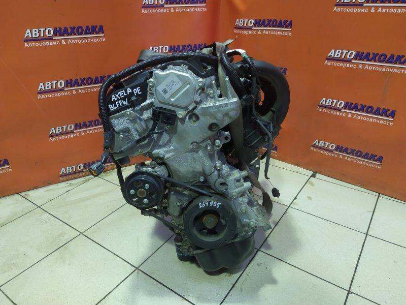 Двигатель Mazda Axela BLFFW PE-VPS без навесного. пробег 17T.KM
